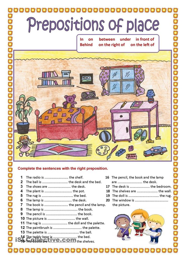 Prepositions of place (2). Education Pinterest