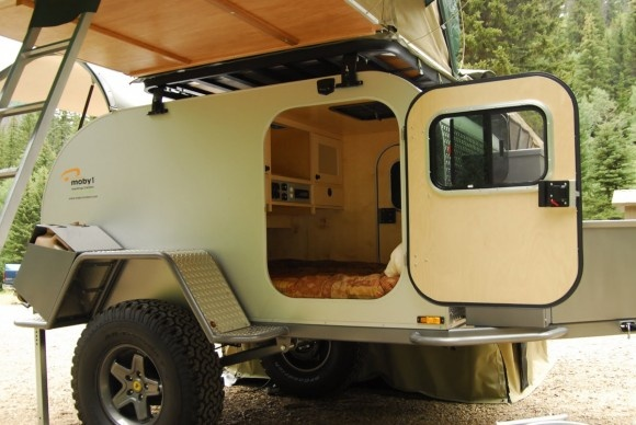 Moby1 offroad teardrop camper – inside
