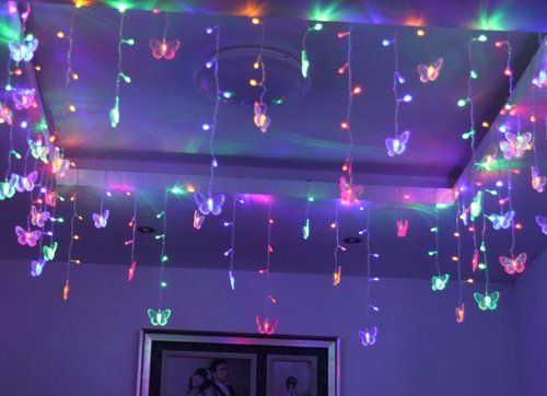 Butterfly Shaped String Ornaments Shape Led String Light