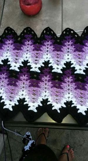 13 best images about Lacy Chevron Afghan on Pinterest | Breaking amish, Chevron afghan and Image
