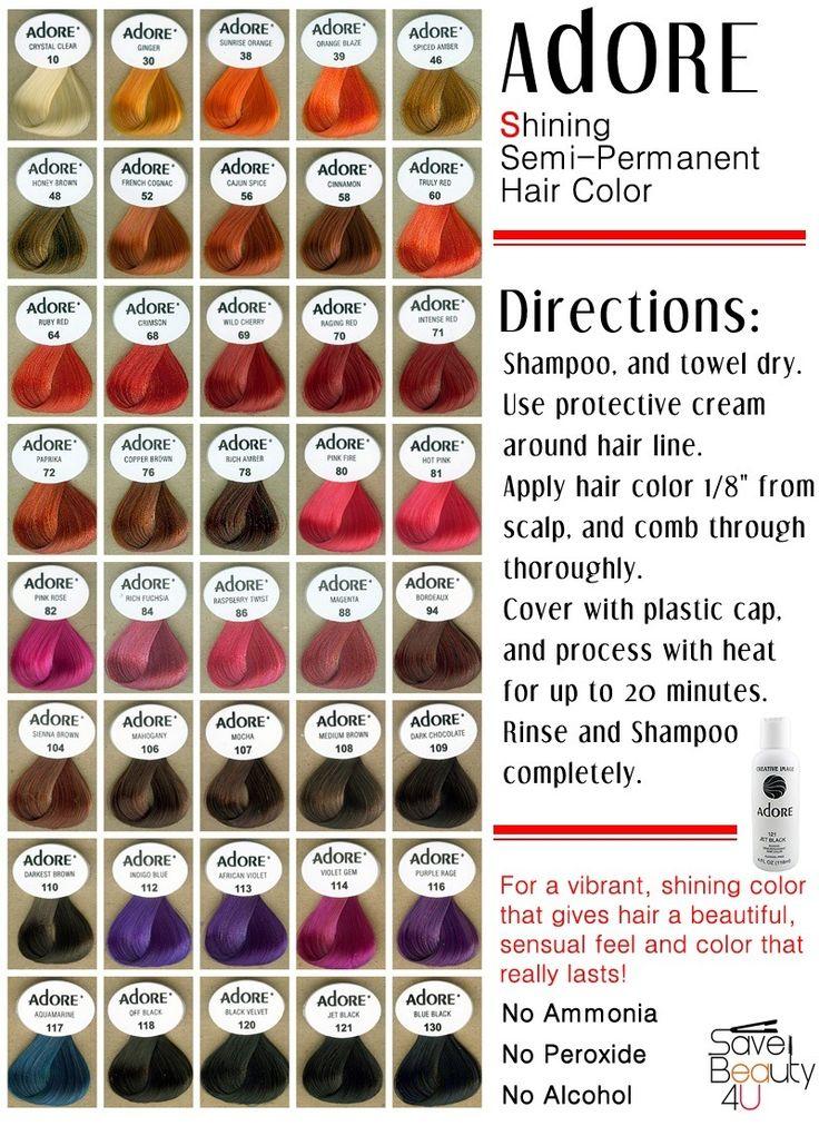 I Use Aquamarine Adore Hair Color Beautiful Hair
