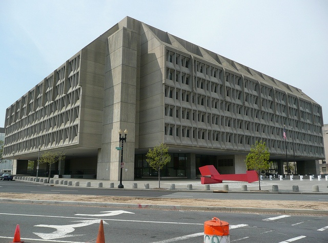 Hubert H. Humphrey Building. Headquarters building of the