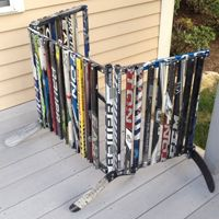 1000 Images About Hockey Stick Furniture On Pinterest