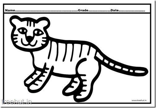1000 Ideen Zu Ausmalbilder Tiger Auf Pinterest