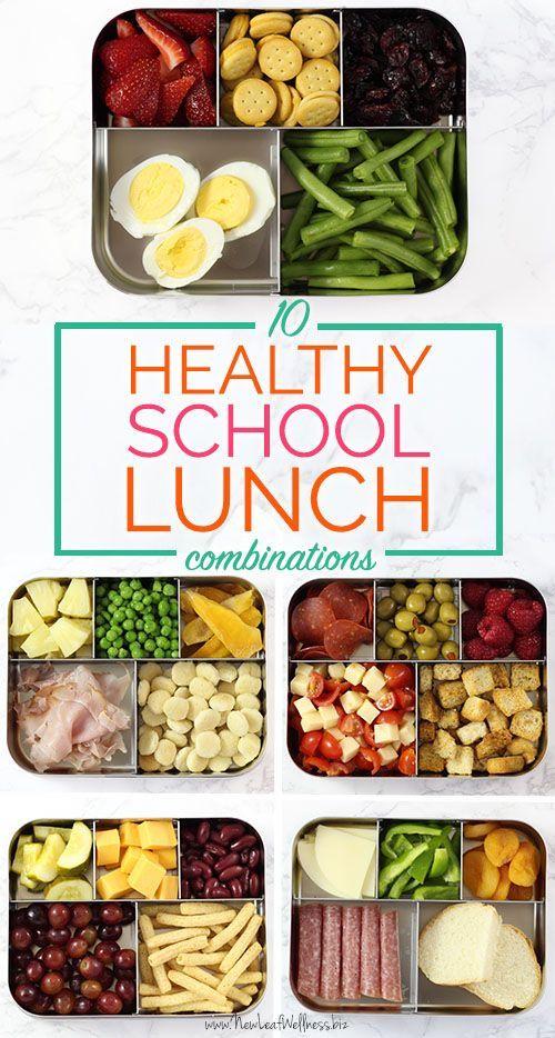 10 Healthy School Lunch Combinations That Kids Love. WE