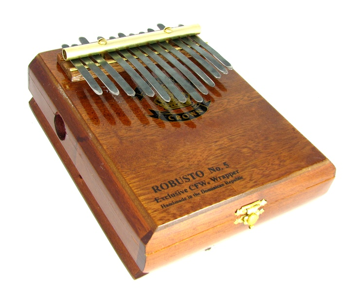 Cigar box kalimba instrument music cigars homemade