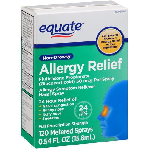 54-Oz Equate Non-Drowsy Allergy Relief Nasal Spray $5 Free Store ...