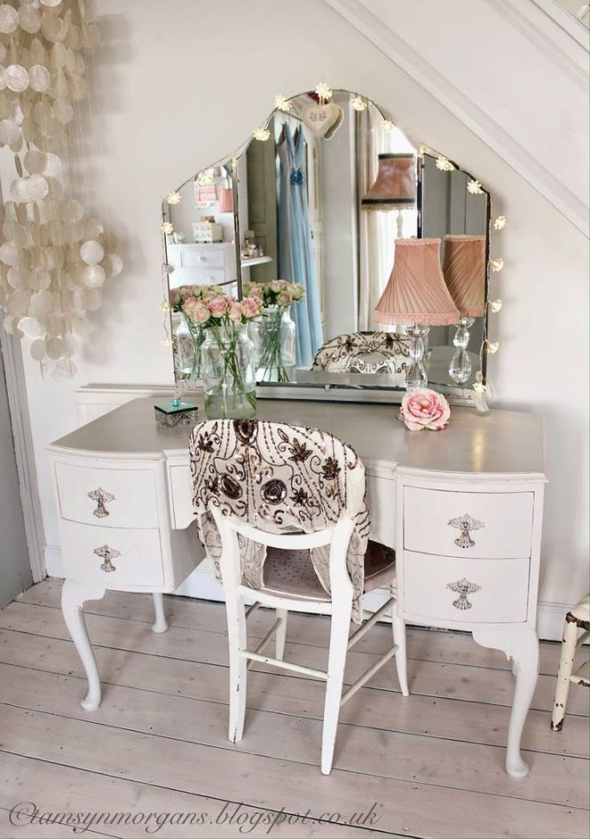 The Villa On Mount Pleasant Vintage Dressing Table