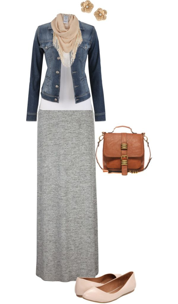 Cute casual outfit.  I have an outfit like this.