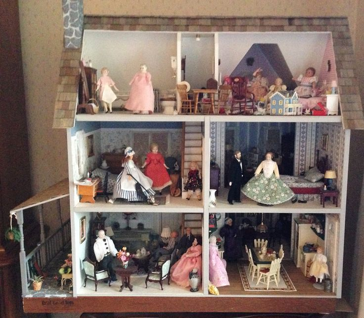 RGT Victorian Farmhouse Dollhouse Interiors Pinterest