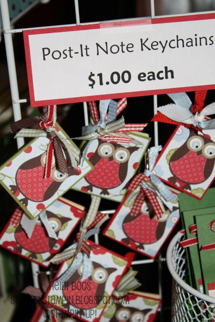 Stuck on Stampin' Craft Bazaar RoundUp 2011 craft fair