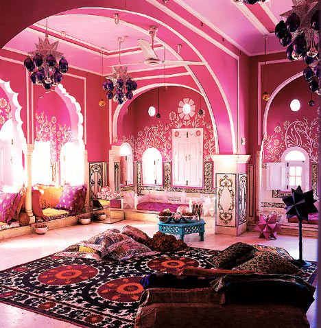 Pink For Sangeet This Is Beautiful I Would Decorate My Bedroom Like