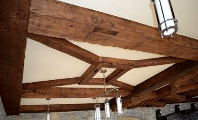1000 Images About Barn Beams Ceiling Decor On Pinterest
