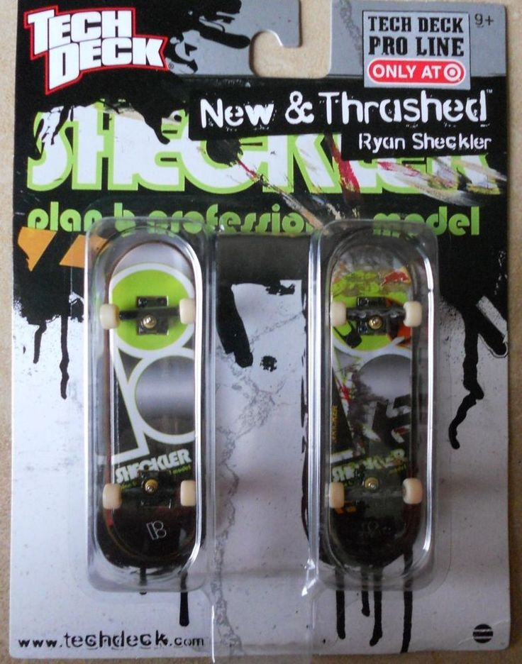 Tech Deck New & Thrashed Ryan Sheckler Plan B 96mm