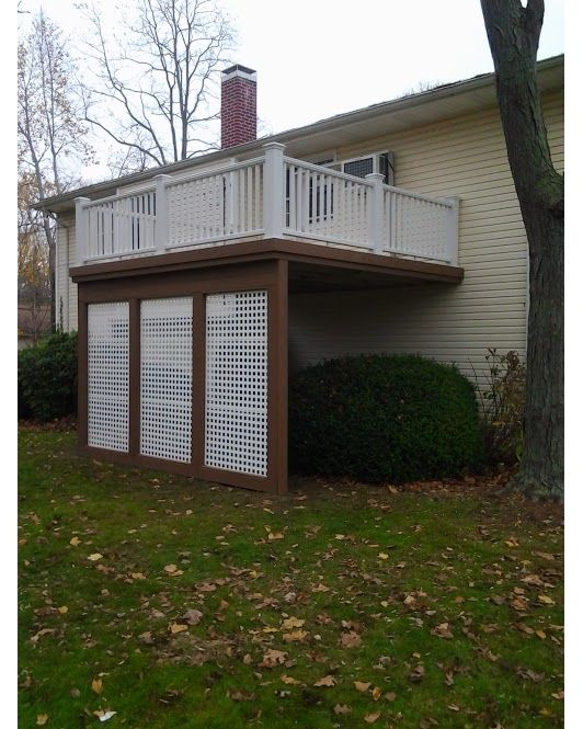 Trex Deck With Privacy Screen Decks And Porches Pinterest