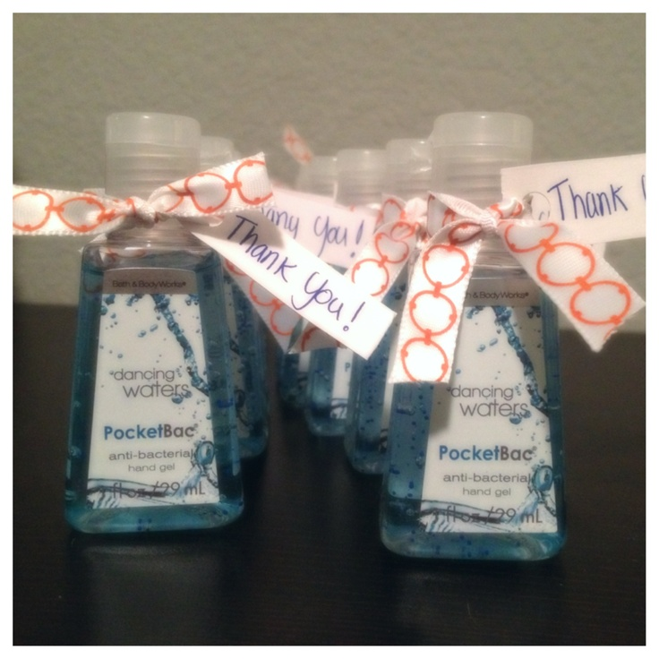 Thank you gift for my baby shower guest babyboy