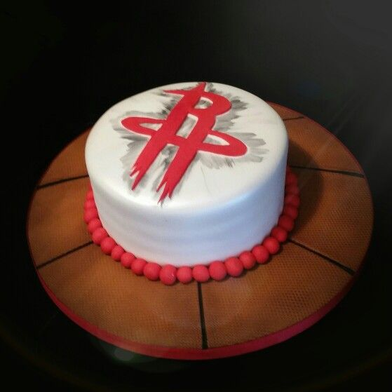 Houston Rockets Themed Cake The Frosted Oven Cake Studio