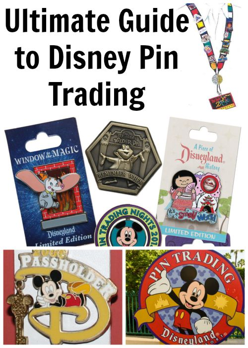 Ultimate Guide to Disney Pin Trading With Info Graphic