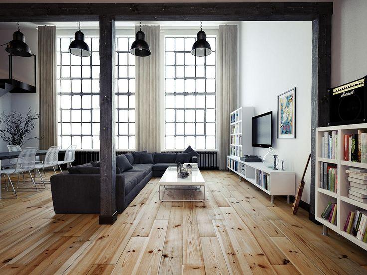 25+ Best Ideas About Loft Apartments On Pinterest