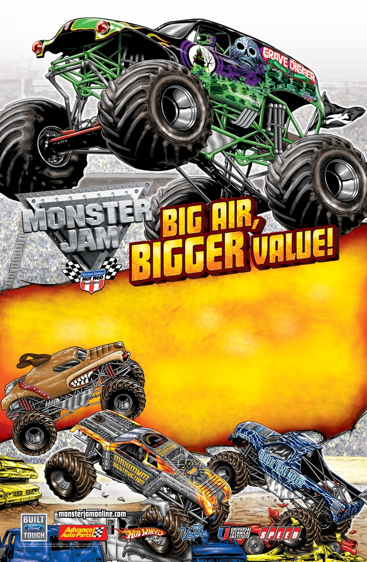 67 Best Images About Monster Jam Quot Oh Yeah Baby Quot On