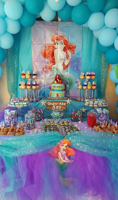 25 Best Ideas About Little Mermaid Centerpieces On
