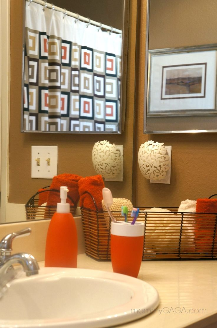 25 Best Ideas About Orange Bathroom Decor On Pinterest Cottage Orange Bathrooms Farm