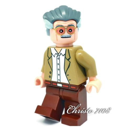 Custom Lego Stan Lee Discover More Best Ideas About