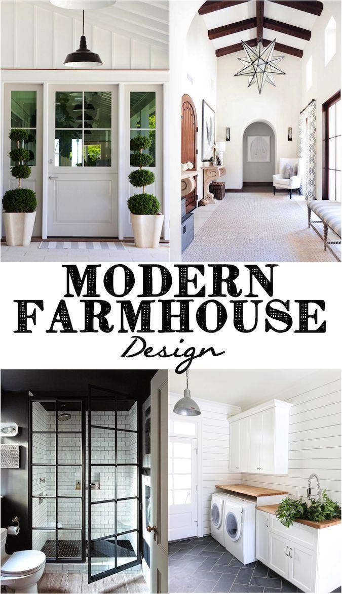 Modern Farmhouse Design Modern farmhouse, Joanna gaines