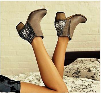 Sparkly heel Zenobia Steve