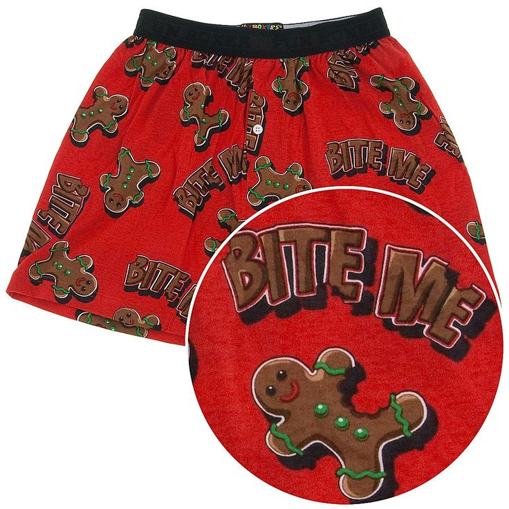Homer Simpson Naughty Christmas Boxer Shorts for Men