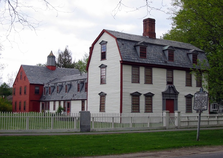 Dwight House, Springfield, Massachusetts, c.1754