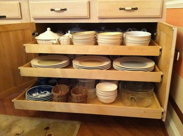 36 Best Images About Pantry Organization: Pull Out Storage