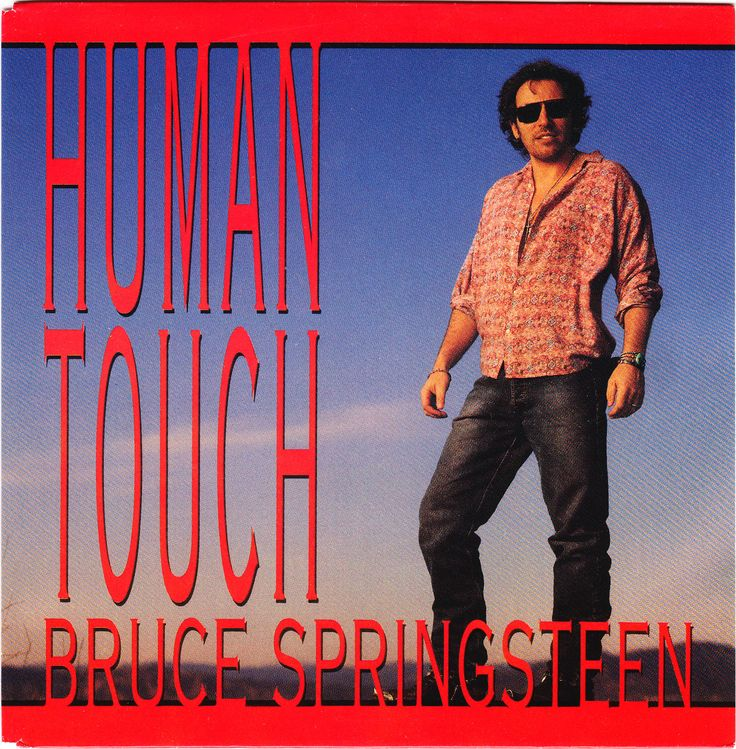 Bruce Springsteen Human Touch [Single] Springsteen