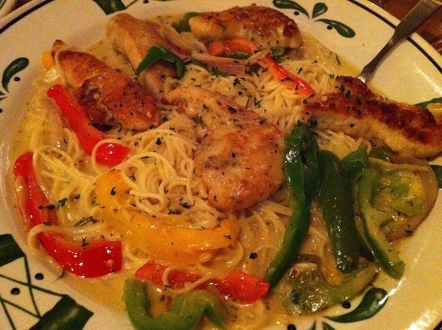 Olive Garden Chicken Scampi My Favorite Food. Yummy