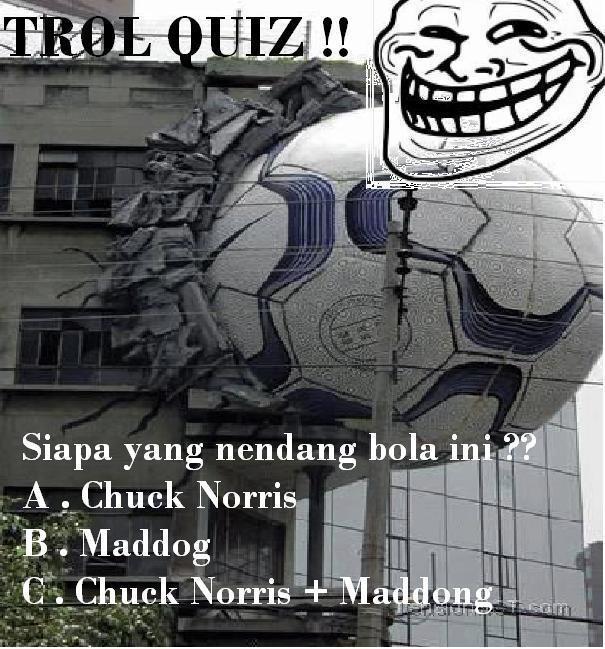 Troll Quiz hari ini by Gilang Angga Saputra Meme Comic