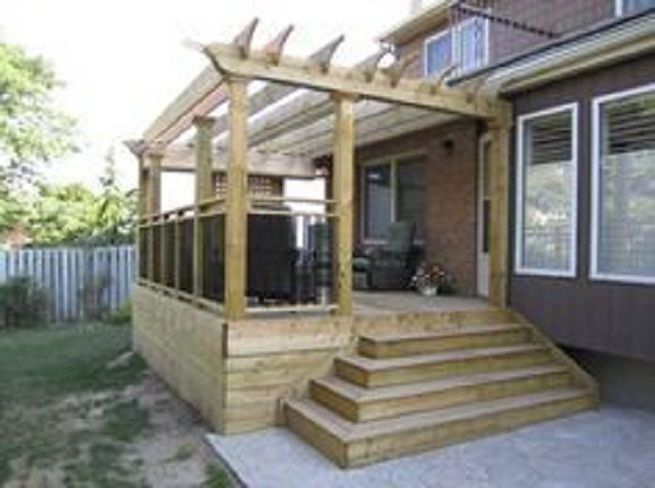 Creative And Inspiring Small Deck Plans Small Deck Design