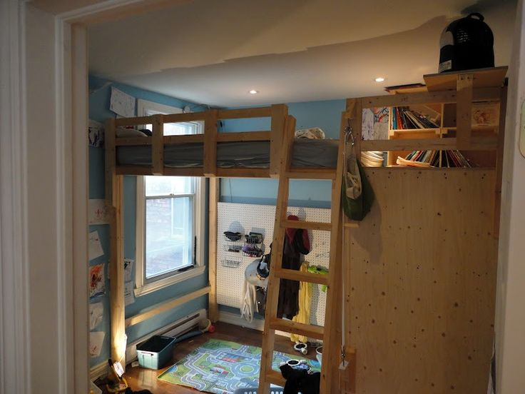 17 Best Images About How To Build A Loft Bed On Pinterest