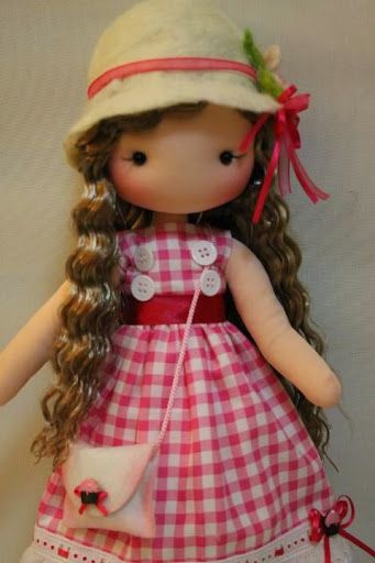 17 Best Images About Sewing Dolls On Pinterest Flora