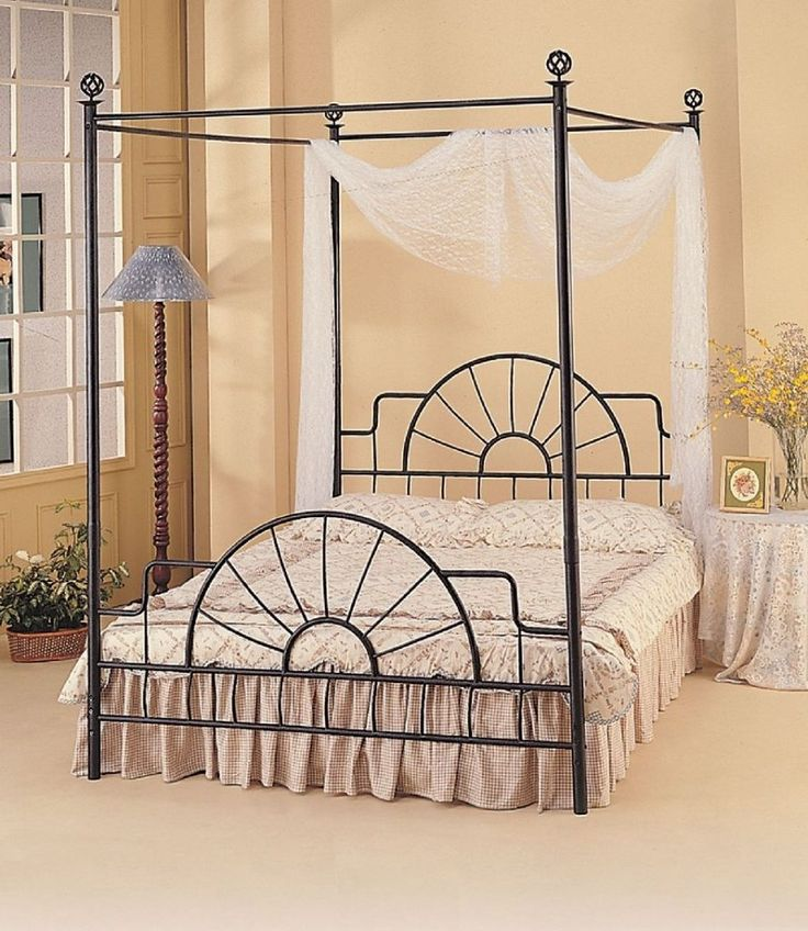 25 Best Ideas About Canopy Bed Frame On Pinterest