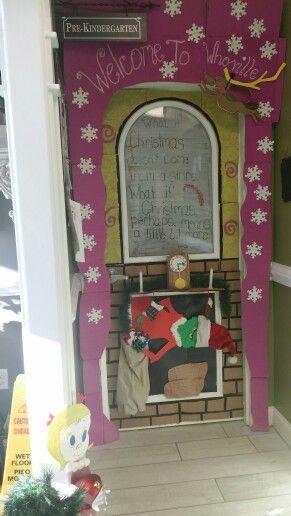 Christmas Classroom Door Door Decorating And Classroom