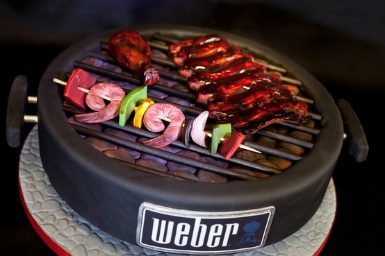 Bbq Cake Cake Barbaque Examples Pinterest Cakes