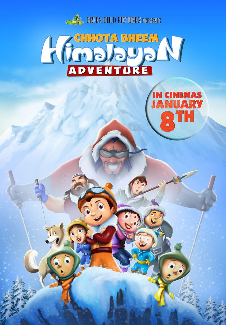 Download Chota Bheem Himalayan Adventure Skiing Game