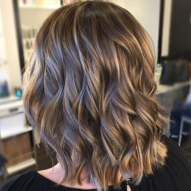 17 best ideas about Brunette With Blonde Highlights on