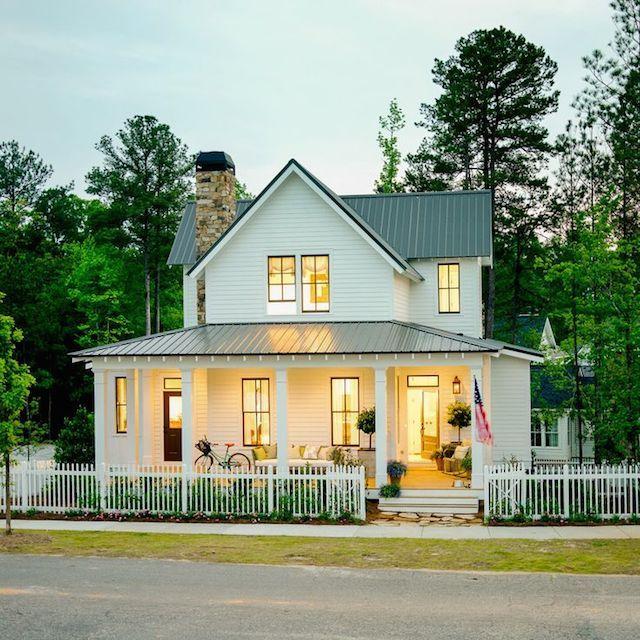 Classic farmhouse design. Farmhouse Style Pinterest