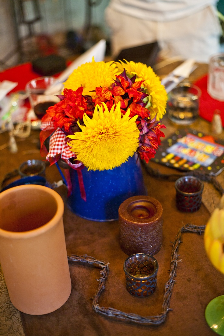 65 Best Images About Western CENTERPIECES On Pinterest