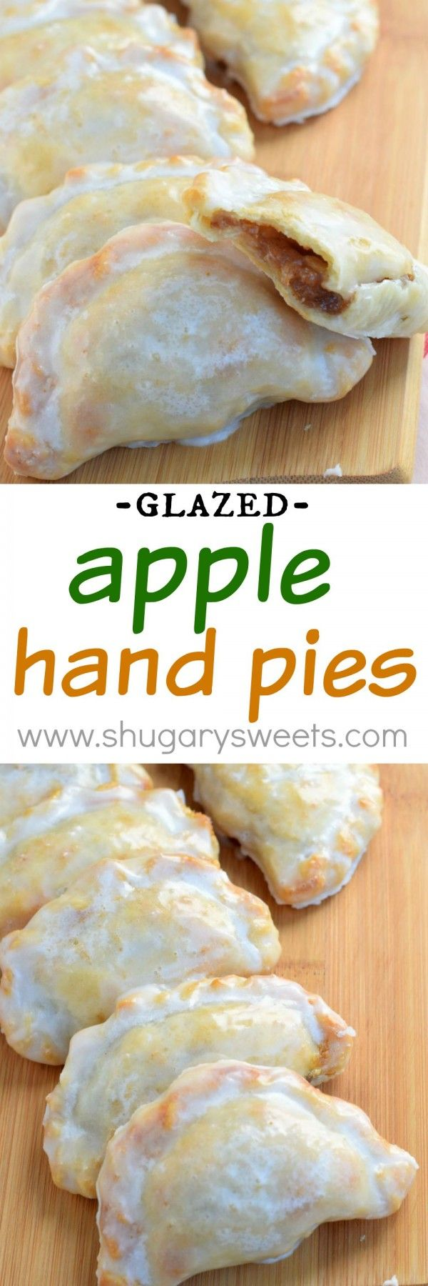 These Glazed Apple Hand Pies are the perfect fall treat. And in only 30 minutes, you'll have one of these delicious baked treats