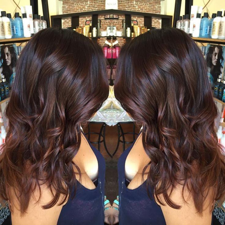 Chocolate with red undertones darkforsummer newhair