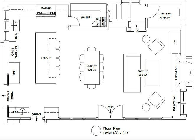 25+ Best Ideas About Kitchen Layout Plans On Pinterest