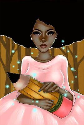 Image result for black writer artwork