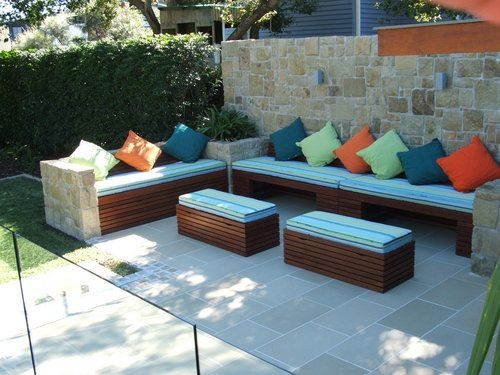 Image Detail For -Outdoor Bench Seating With Storage